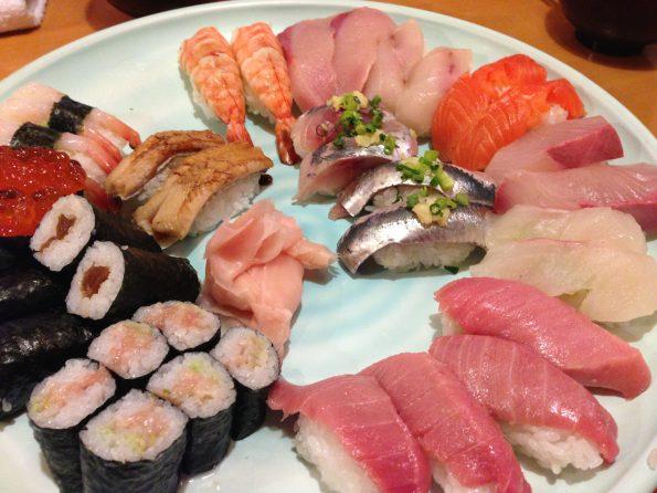 รวมซูชิที่ญี่ปุ่น