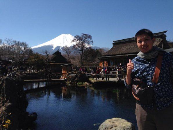 หมู่บ้านโอชิโนฮักไค กับบ่อน้ำศักดิ์สิทธิ์